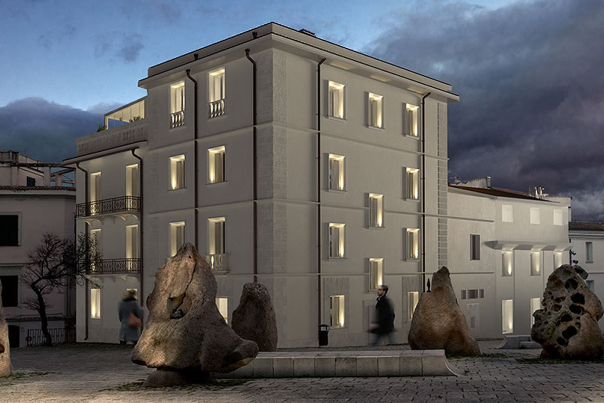 The MAN_Museum of Art Provincia di Nuoro Hotel Grillo Nuoro